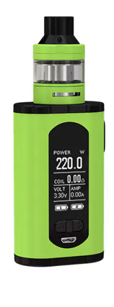 Eleaf Invoke 220W TC - ELLO T Kit, grün