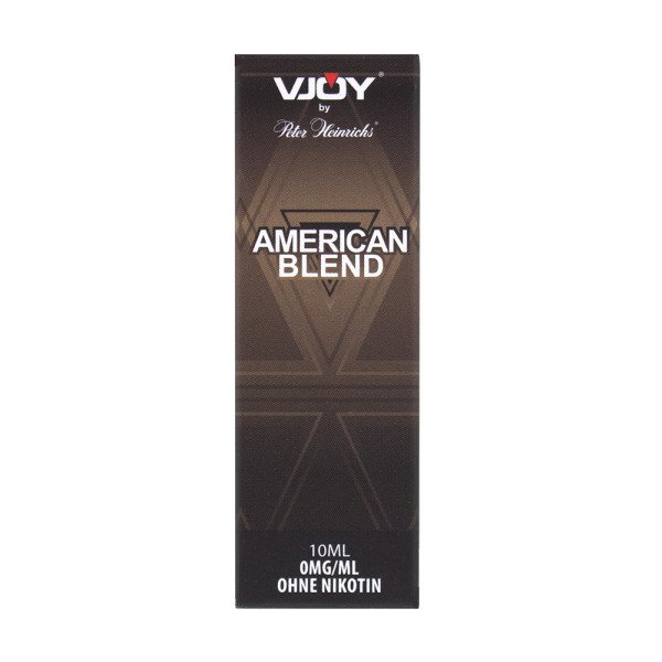 VJOY by Peter Heinrichs, American Blend 0 mg Nikotin